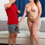 Step Mommy Catches Son Wanking 10